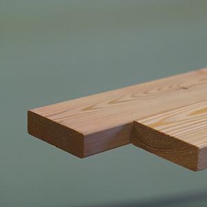 Лиственница (изделия из лиственницы) - Палубная доска из лиственницы