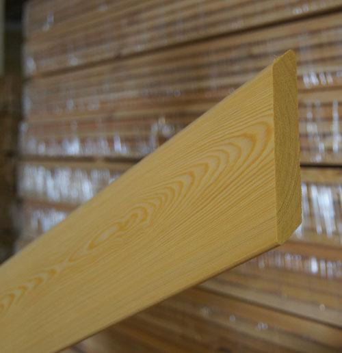 Планкен - Планкен скошенный из лиственницы