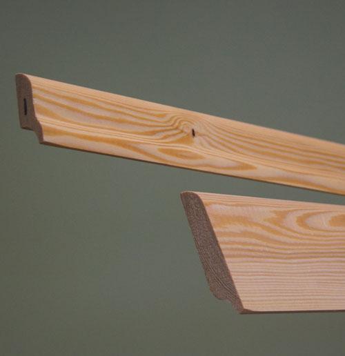 Лиственница (изделия из лиственницы) - Плинтус из лиственницы